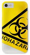 Biohazard Symbol IPhone Case by Tim Vernon, Nhs Trust