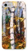 Birches 03 IPhone Case