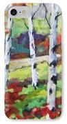 Birches 07 IPhone Case
