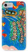 Birds And Nest In Flowering Tree IPhone Case by Sushila Burgess