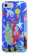 Birthday Clown IPhone Case by Robert SORENSEN