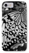 Black And White Butterfly IPhone Case