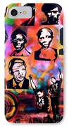 Black Revolution IPhone Case by Tony B Conscious