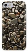 Black River Stones Portrait IPhone Case by Steve Gadomski