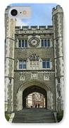 Blair Hall Princeton IPhone Case by John Greim