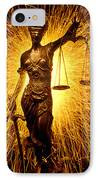 Blind Justice  IPhone Case