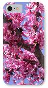 Blooming Red Buds IPhone Case