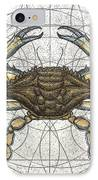 Blue Crab IPhone Case