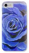 Blue Ice IPhone Case by Herschel Fall