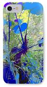 Blue Jungle IPhone Case