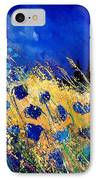 Blue Poppies 459070 IPhone Case