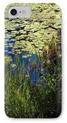 Blue Sky Pond IPhone Case