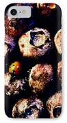 Blueberries And Ladybug IPhone Case