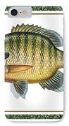 Bluegill Print IPhone Case by JQ Licensing