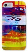 Bmw Racing IPhone Case by Naxart Studio