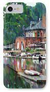 Boathouse Row In Philadelphia IPhone Case