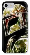 Boba Fett IPhone Case by Paul Ward