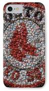 Boston Red Sox Bottle Cap Mosaic IPhone Case