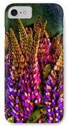 Bouquet Of Lupin IPhone Case by David Patterson