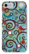 Branch Birds IPhone Case by Karla Gerard