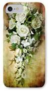 Bridal Bouquet IPhone Case by Meirion Matthias