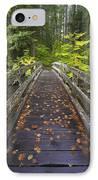 Bridge In A Park IPhone Case by Craig Tuttle