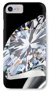 Brilliant Cut Diamond IPhone Case by Setsiri Silapasuwanchai