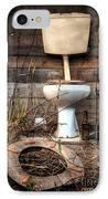 Broken Toilet IPhone Case by Carlos Caetano