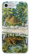 Buccaneer Island IPhone Case by Danielle  Perry