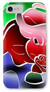Bull Market IPhone Case by Stephen Younts