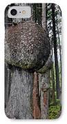 Burly Phantoms - Spruce Burls Beach One Olympic National Park Wa IPhone Case