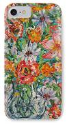 Burst Of Flowers IPhone Case