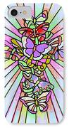 Butterfly Cross IPhone Case