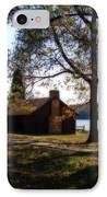 Cabin By The Lake IPhone Case