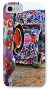 Cadillac Ranch IPhone Case