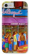 Cafe Bilboquet Ice Cream Delight IPhone Case