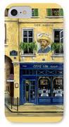 Cafe Van Gogh IPhone Case by Marilyn Dunlap
