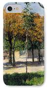 Caillebotte: Argenteuil IPhone Case by Granger