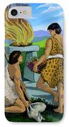 Cain And Abel IPhone Case