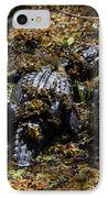 Camouflage IPhone Case by Carol Groenen
