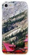 Canadian Red IPhone Case by Karen Wiles