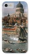 Canaletto: Thames, 18th C IPhone Case by Granger