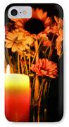 Candle Lit IPhone Case by Kristin Elmquist