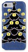 Candlelit Christmas Tree IPhone Case
