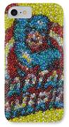 Captain America Mm Mosaic IPhone Case by Paul Van Scott