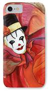 Carnival Clown IPhone Case
