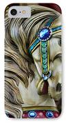 Carousel Horse  IPhone Case by Paul Ward