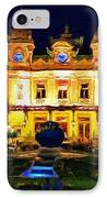 Casino Monte Carlo IPhone Case by Jeff Kolker