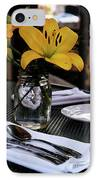Casual Affair IPhone Case by Linda Shafer