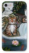 Cats In The Wild IPhone Case